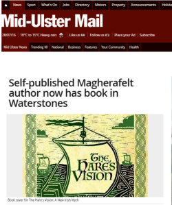 Hare's Vision in Mid Ulster Mail