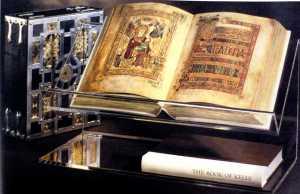 Book of Kells. Trinity College Dublin