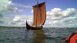 Viking Dreki or longship