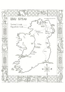 ireland-route-map