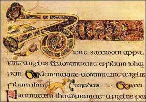 Book of Kells 9th century