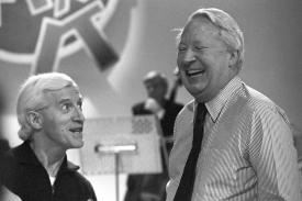 Ted Heath, British PM & his 'friend' Jimmy Saville