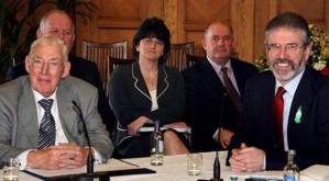 Ian Paisley, Arlene Foster and Gerry Adams 2007