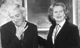 Saville and Margaret Thatcher