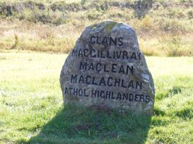 Battle of Culloden mass grave 1745