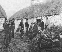 Evictions in Ireland during the 1840's