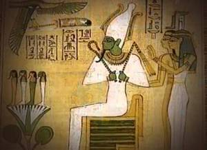 Egyptian god, Osiris