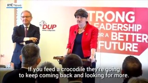 Arlene Foster and Crocodiles