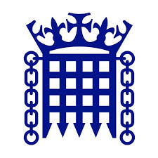 Logo of UK Parliament - Crown is above a portcullis