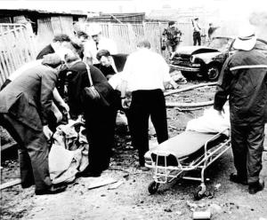 'Bloody Friday' bombing, Belfast 21 July 1972